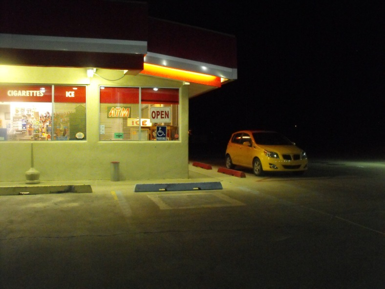 THE MYSTERY OF GAS STATIONS / CLAIRE O'BRIENH 2012