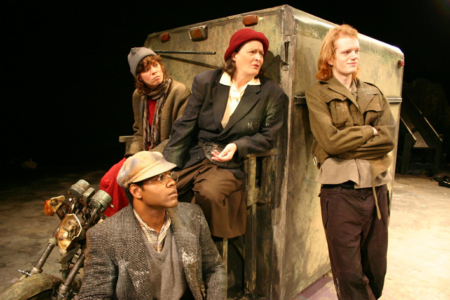 Mother Courage And Her Children Wagon