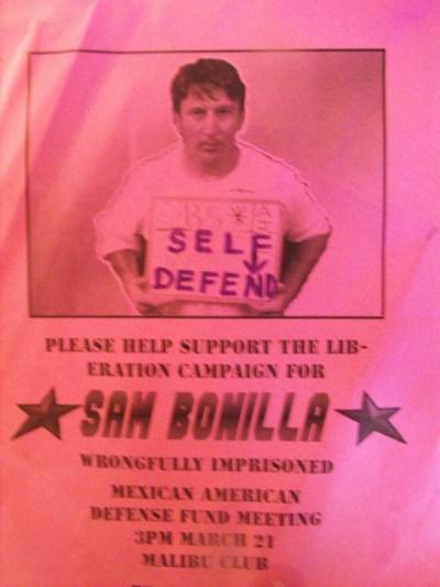 SAMUEL BONILLA, FRAMED FOR MURDER, 2010, DODGE CITY KANSAS