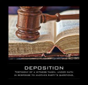 Online-Deposition