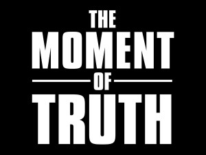 THE MOMENT OF TRUTH: Logo.©2007 FOX BROADCASTING