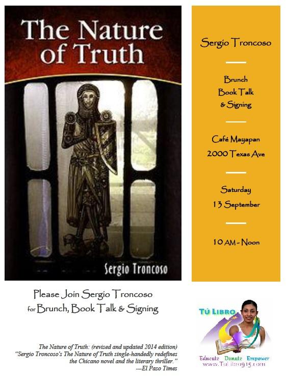 Brunch Book Talk 13 Sep
