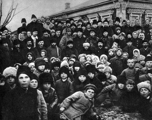 and his wife Nadezhda, Kashino, Russia, 14 November 1920. Artist: Anon