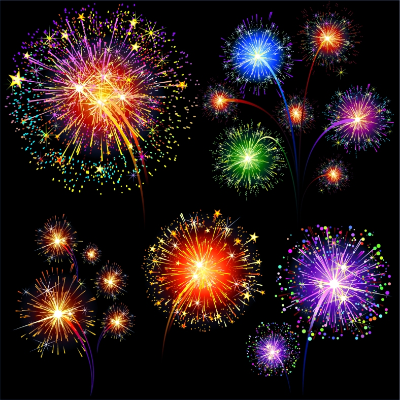free-vector-colorful-fireworks-01-vector_007325_colorful_fireworks_01_vector_0