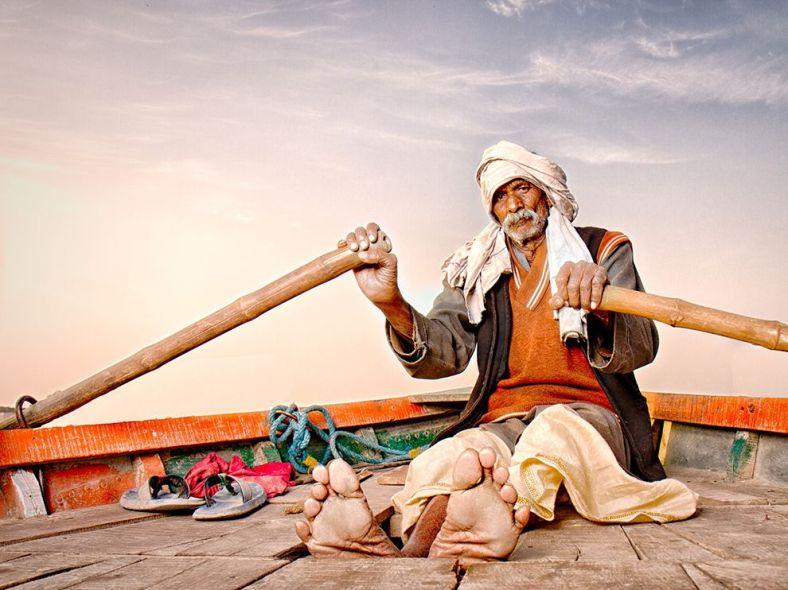 RuralScape-Boatman-Mathura-INDIA